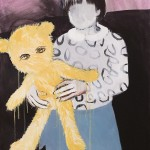 1318-13_Girl with a toy_70×100cm.2012 壓克力彩、畫布 Acrylic on Canvas